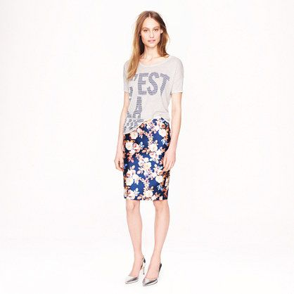 J.Crew Collection No. 2 Pencil Skirt