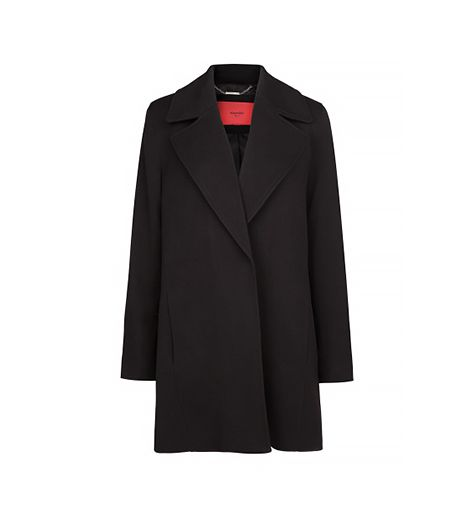 Mango Wide Lapel Coat