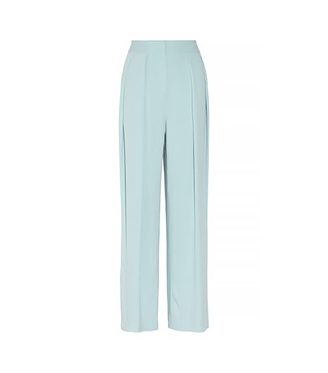 By Malene Birger Firoza Stretch-Crepe Wide-Leg Pants