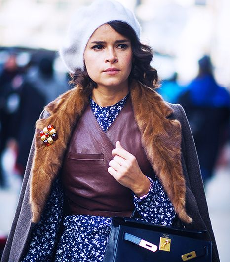 Russia Takes The Gold For Street Style Accessories