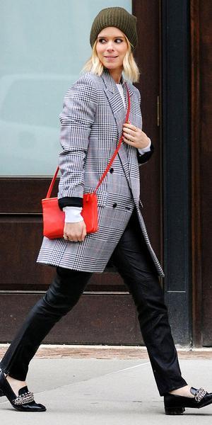 Kate Mara's Totally Cool Zara Loafers