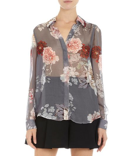 L'Agence Floral Blouse
