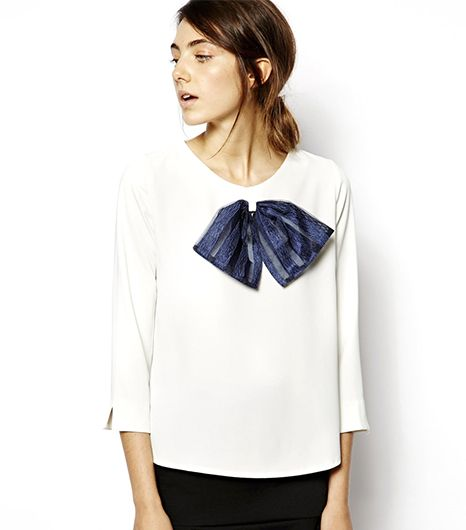 Sister Jane Blouse With Bow