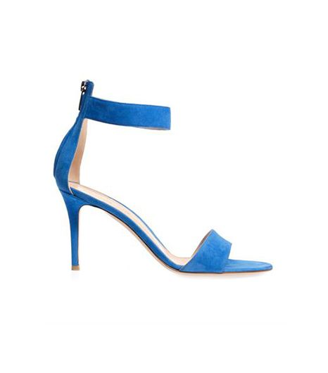 Gianvito Rossi Ankle-Strap Suede Sandals