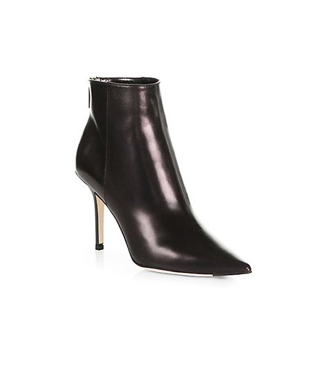 Jimmy Choo Amore Leather Ankle Boots
