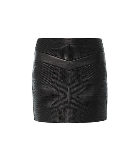 IRO Flora Leather Skirt