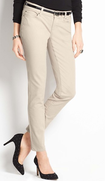 Ann Taylor Modern Denim Ankle Jeans