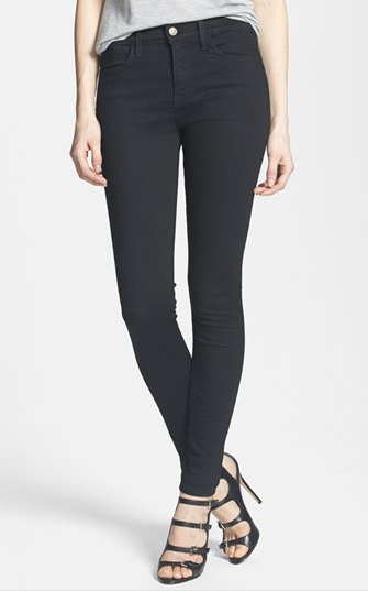 Wildfox Scarlet High Rise Skinny Jeans