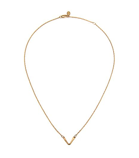 Phyllis + Rosie Mini V Bar Necklace