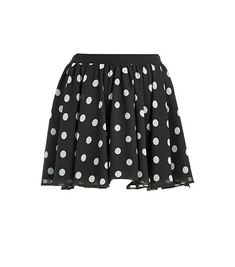 Guess Polka Dot Circle Skirt