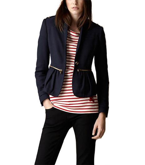 Burberry Brit Feminine Military Jacket
