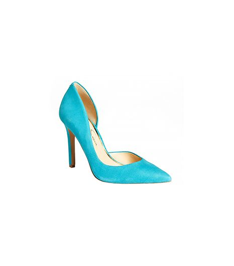 Jessica Simpson Claudette Suede Pumps
