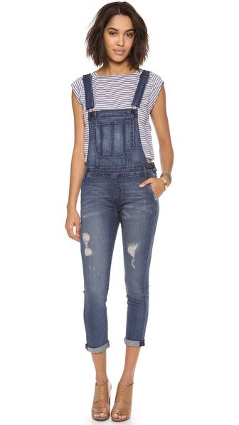 One by Black Orchid Denim Overalls