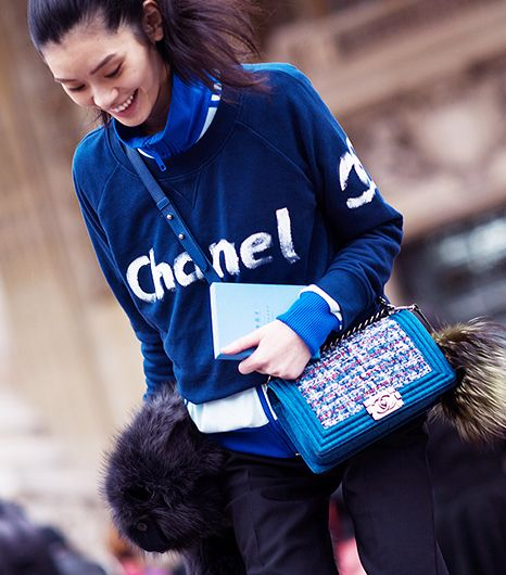 A self-referential outfit is the height of sartorial sophistication. 