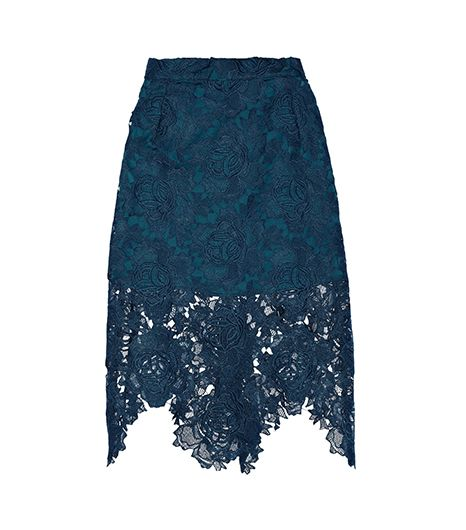 House of Holland House of Holland  Embroidered Lace Skirt