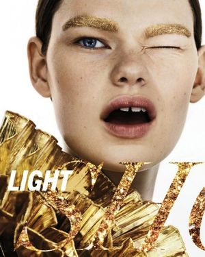 Metallic Beauty Inspiration From Marie Claire