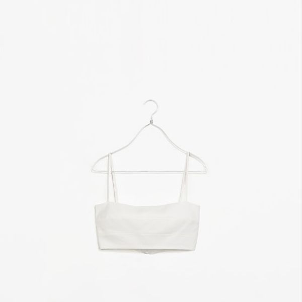 Zara Seamed Bandeau Top