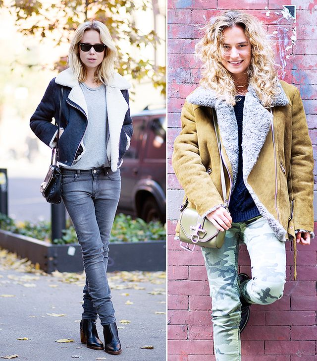 It's Still Happening: Shearling Jackets