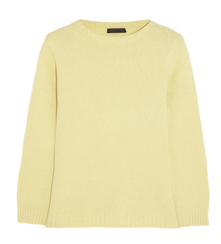 The Row Tisa Merino Wool and Cashmere-Blend Sweater