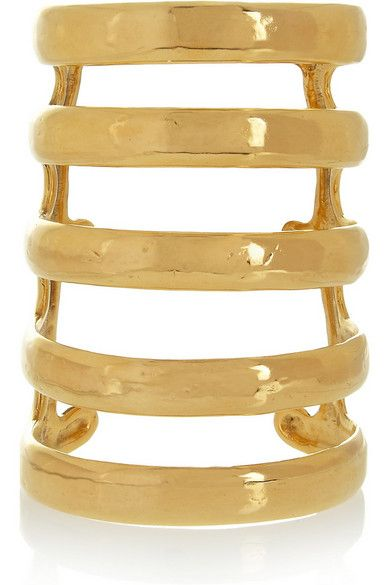 Aurelie Bidermann Esteban Gold-Plated Cuff