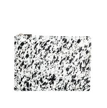 Whistles Medium Clutch with Faux Pony Hair
