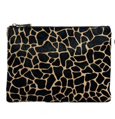 ASOS Leather Clutch Bag with Pony Giraffe Print