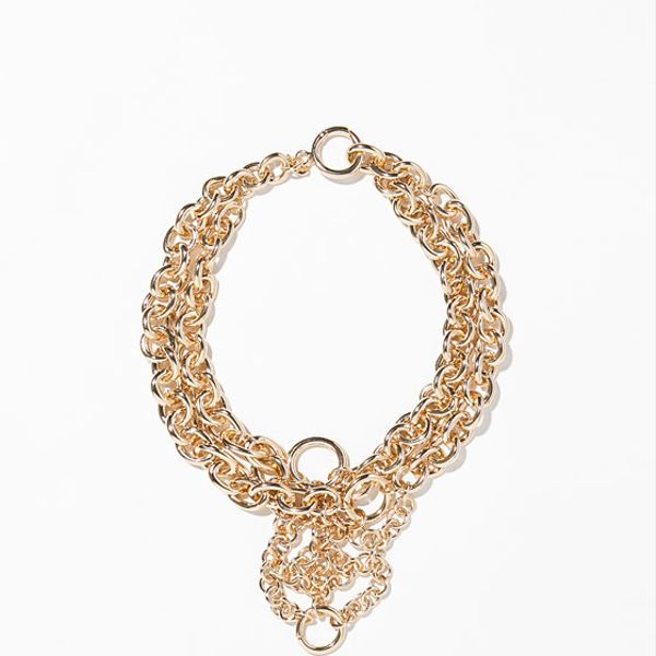 Zara Gold Chain Necklace