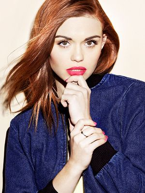 Teen Wolf's Holland Roden Test Drives Spring's Coolest Colors