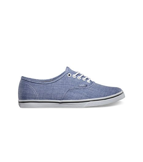 Vans Chambray Authentic Lo Pro Sneakers