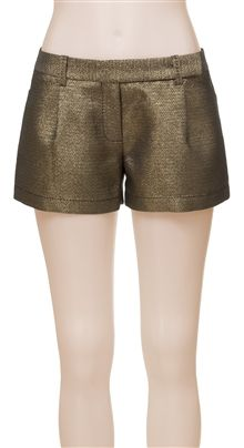 Max Studio Pleated Shorts