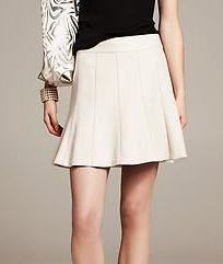 Banana Republic Basket Weave Fluted Skirt