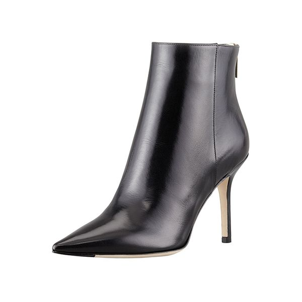 Jimmy Choo Amore Pointed-Toe Ankle Boots
