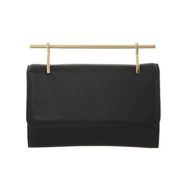 M2Malletier Fabricca Leather Clutch
