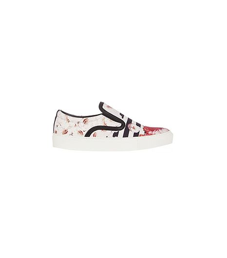 Mother of Pearl + Jim Lambie Printed Canvas Slip-On Sneakers