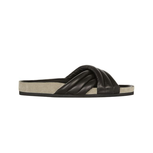 Isabel Marant Isabel Marant Holden Leather Slides