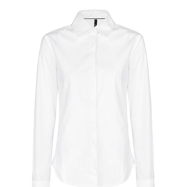 Mango Cotton Fitted Shirt