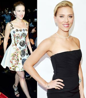 Pregnant Scarlett Johansson Bids Adieu To Sexy Wardrobe...For Now