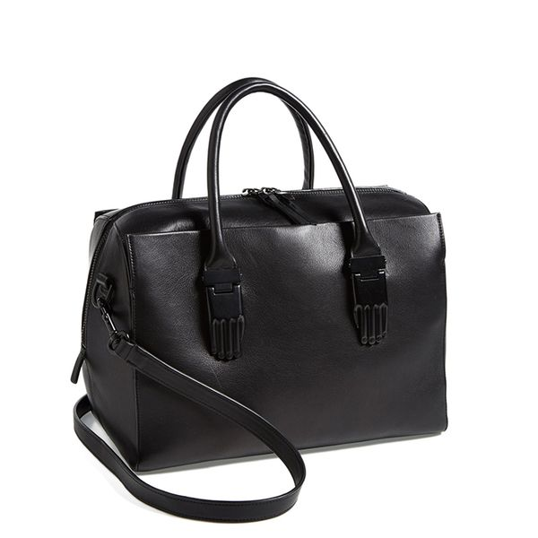 Opening Ceremony Classic Handsome Calfskin Leather Carryall