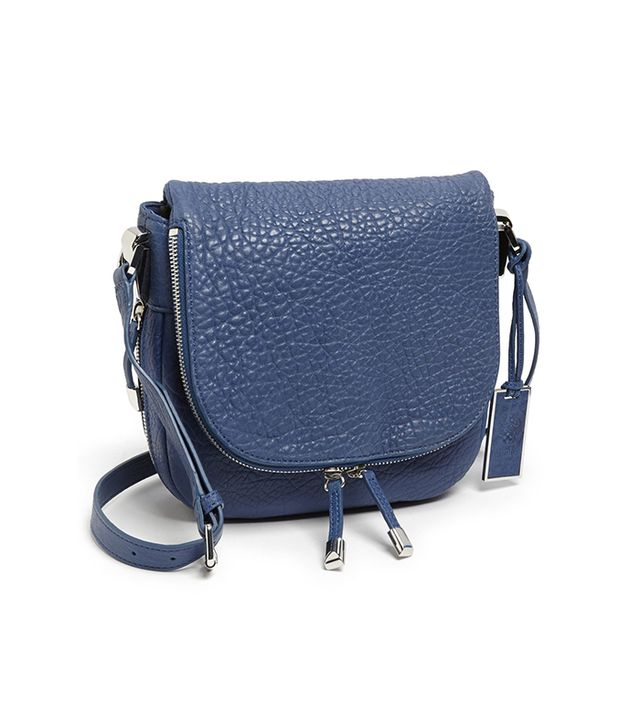 This luscious leather number is sure to become your go-to bag. 