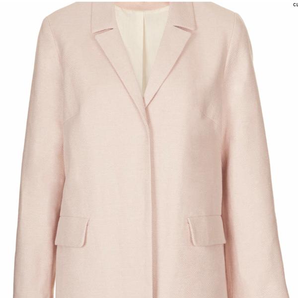 Topshop Tailored Lightweight Coat