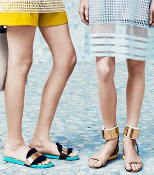 Say Hello To The Sandal You'll Be Wearing All Spring