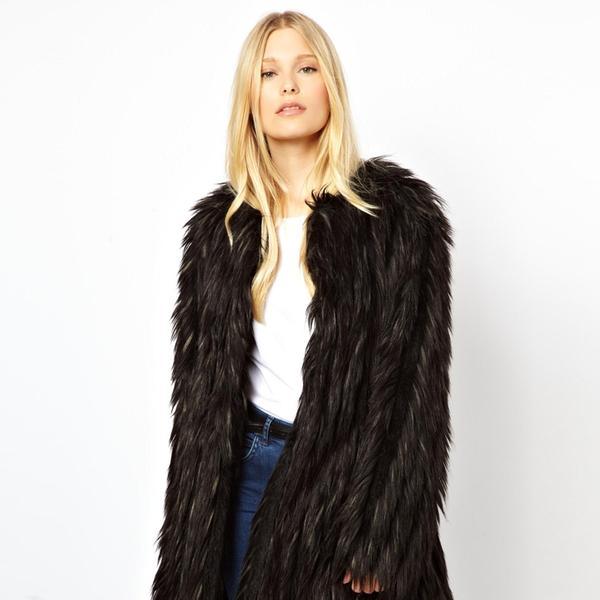 Urbancode Faux Fur Coat