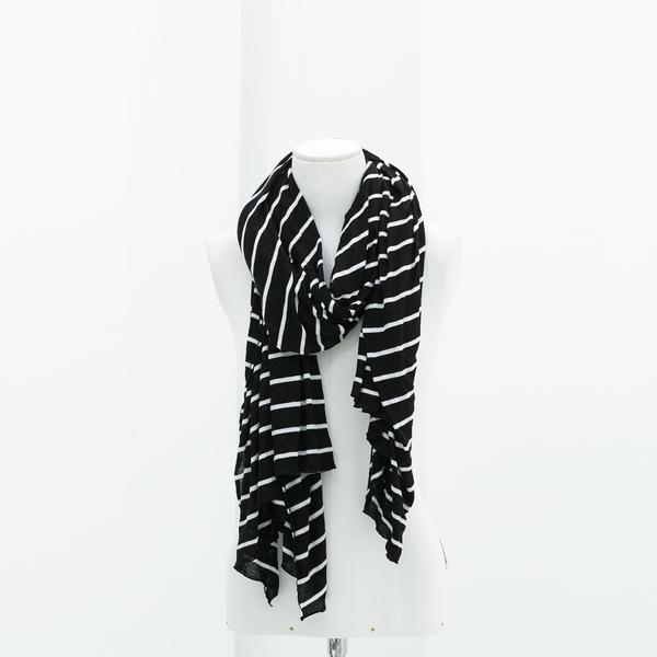 Zara Striped Knitted Scarf
