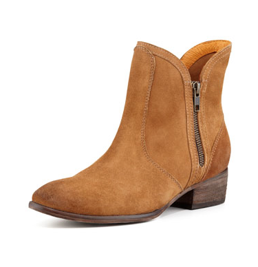 Seychelles Lucky Penny Suede Booties