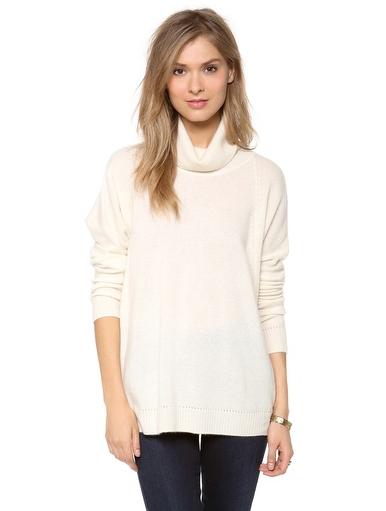 Velvet Cashmere Classic Turtleneck Sweater