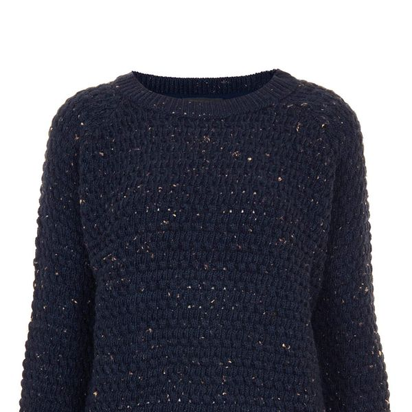 Topshop Knitted Bobble Nep Jumper