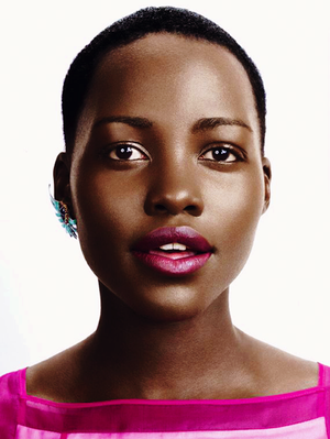 Lupita Nyong'o For Glamour Magazine