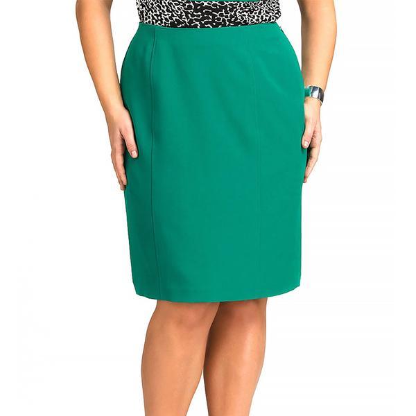 Jones Studio Green Seamed Skirt
