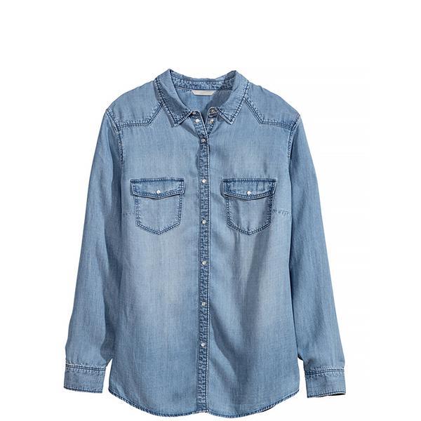 H&M+ Denim Shirt