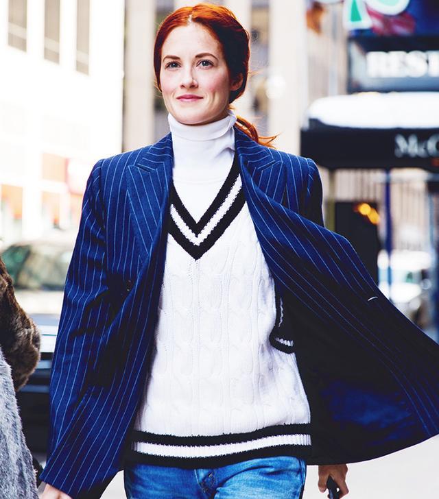 Modern Ways To Wear The Vertical Stripe (You Already Own)